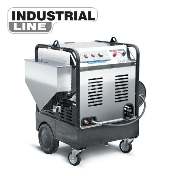 Индустриална пароструйна машина - робот